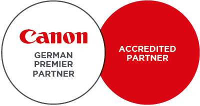 German Premier Partner - Canon Accredited Partner